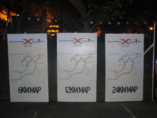 Salomon Xtrail Pilipinas 2012 Race Maps