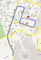 5KM Route Map