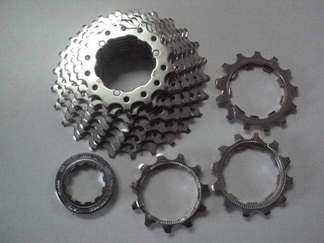10 Speed Shimano cogs