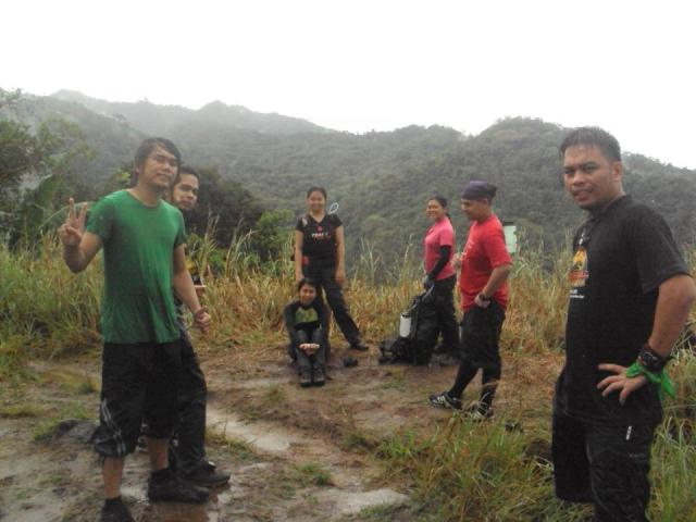 Meet the brave scouts or should I say hikers of Team L.O.S.T.