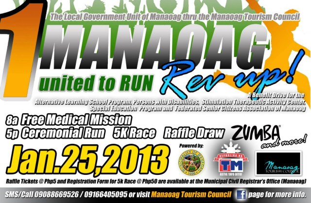 1 Manaoag United to Run REV UP 2013