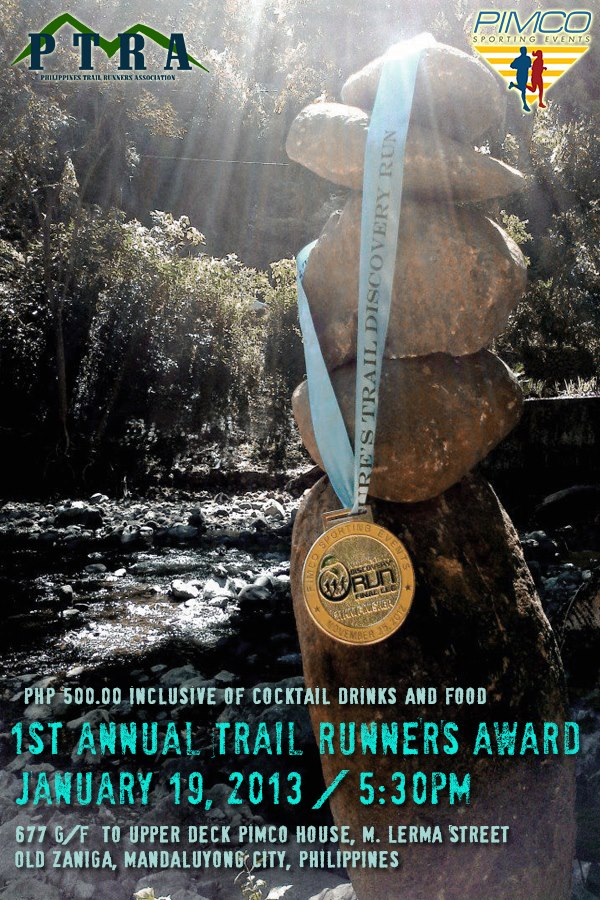 1st Annual Trail Runners Award by PTRA