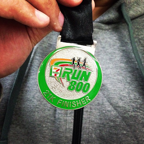 7-Eleven 800 Run Finisher's Medal