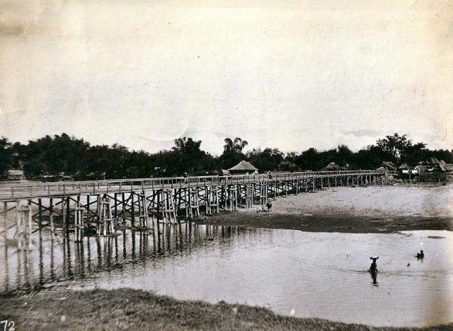 Bridge between Mangaldan and San Jacinto, Pangasinan