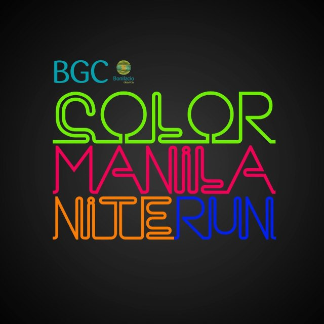 Color Manila Nite Run 2013