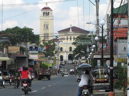 Manaoag, Pangasinan Main Road by Cesar Cambay