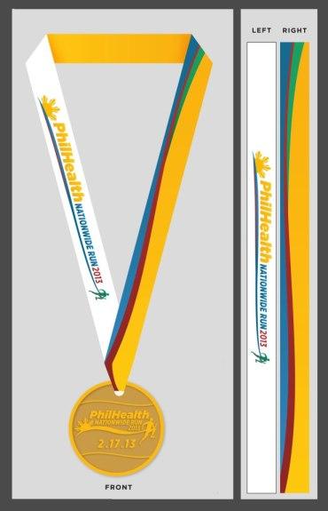 Philhealth Run 2013 Finishers Medal