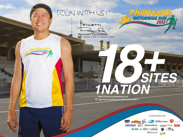 Philhealth Run 2013 - Kenneth Duremdes