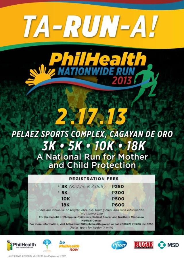 Philhealth Run 2013 - Ta-Run-A!