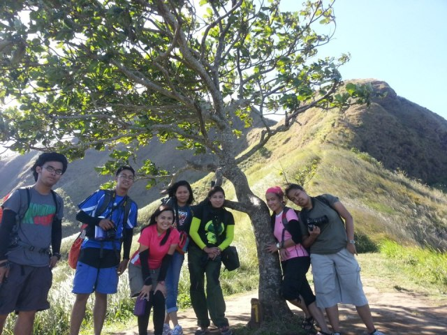 The Bloggers and Hikers at Camp 7