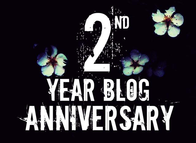 2 Year Blog Anniversary