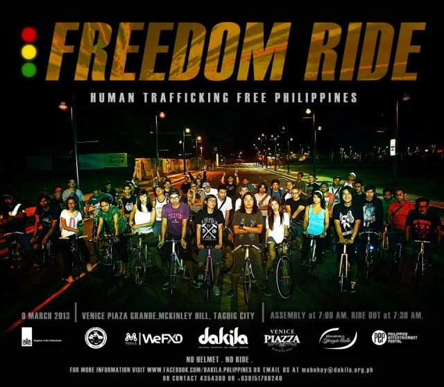 Freedom Ride - Human Trafficking Free Philippines