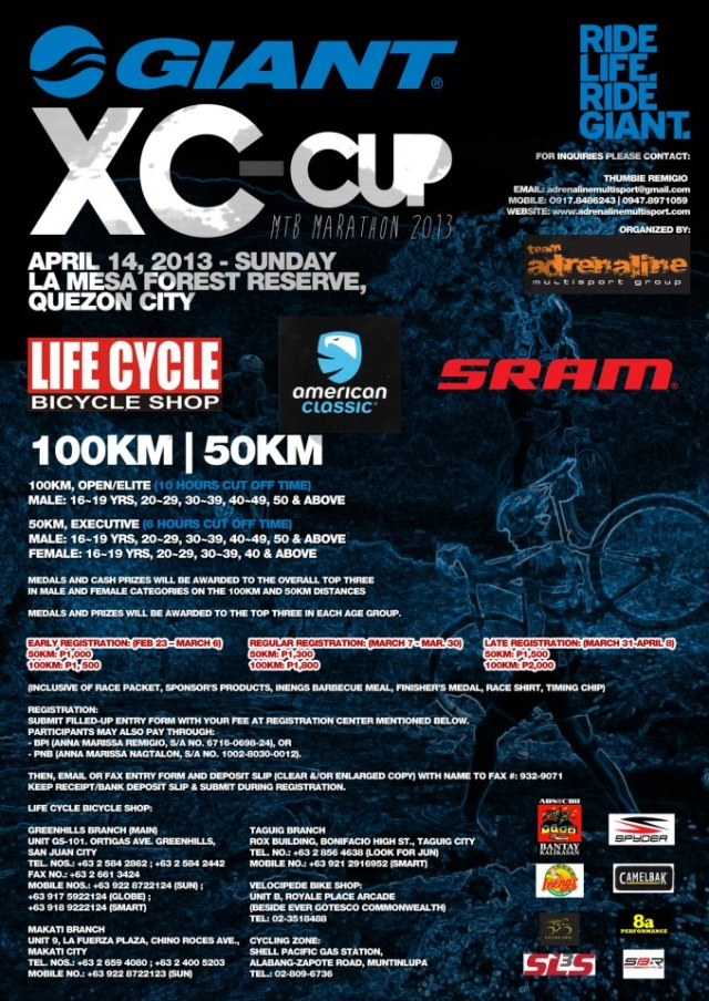 Giant XC Cup 2013