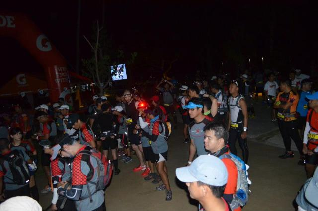 Salomon X-Trail 2013 - At the starting line