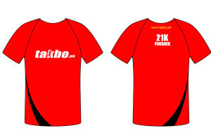 Takbo.ph Run Fest 2013 Finisher Shirt