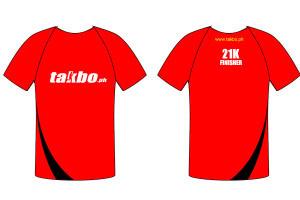 Takbo.ph Run Fest 2013 Finisher Shirt