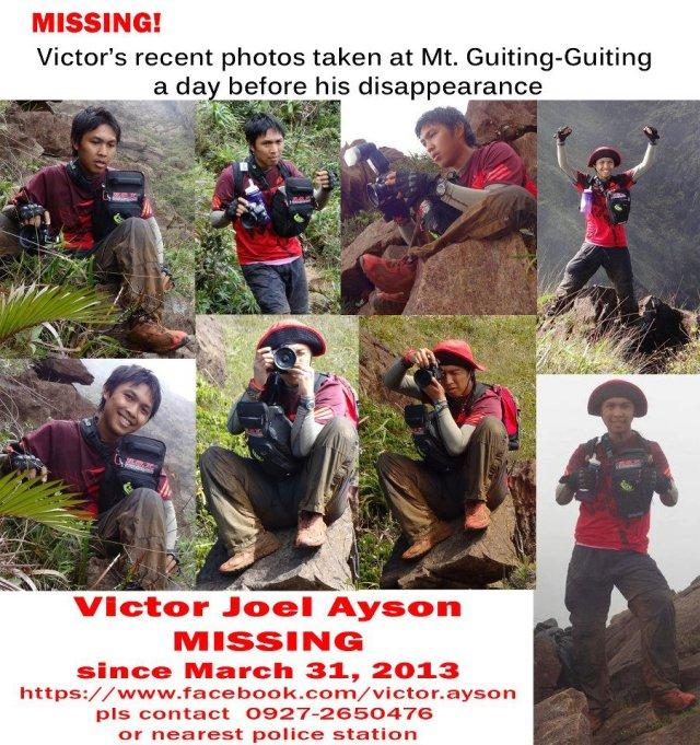 Victor Joel Ayson - MISSING