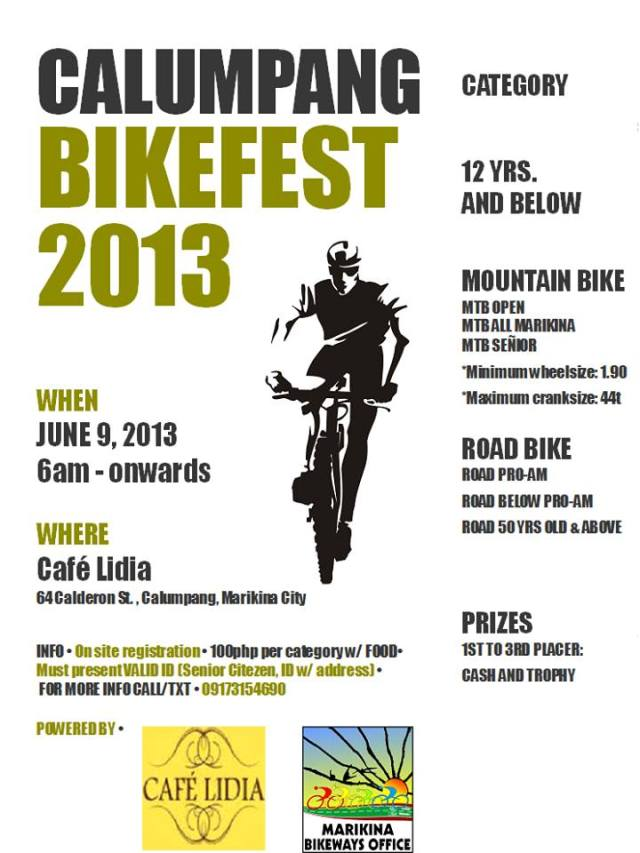 Calumpang Bikefest 2013