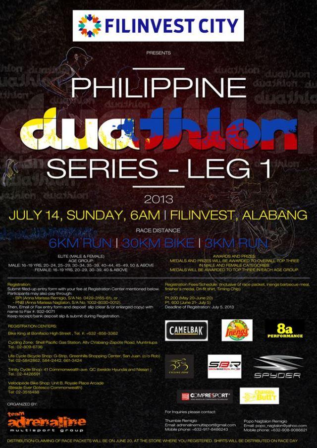 Philippine Duathlon Series - Leg 1