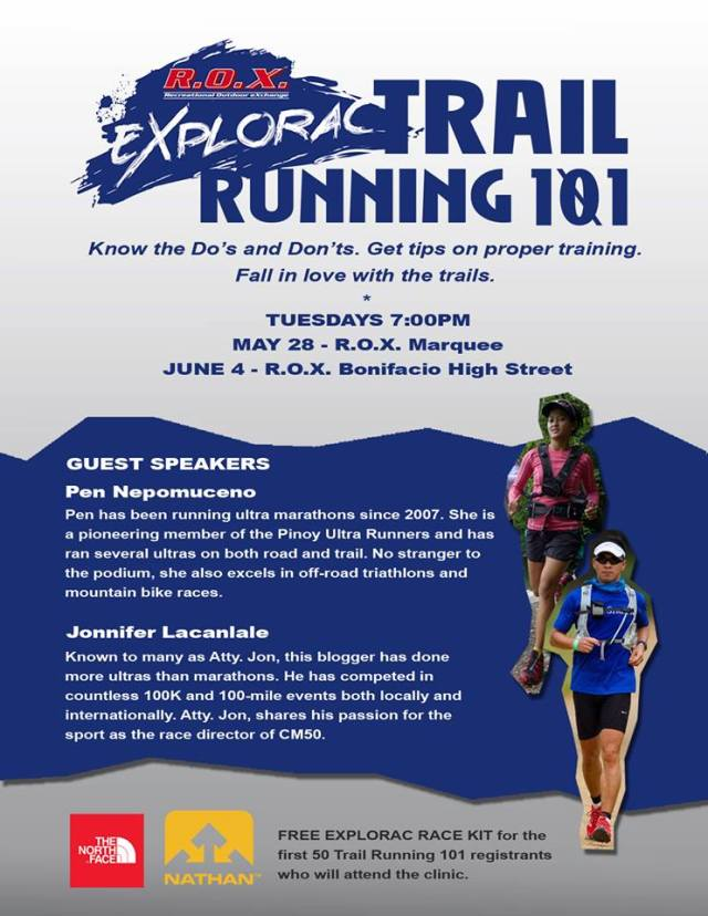 R.O.X. ExPlORAC Trail Running 101