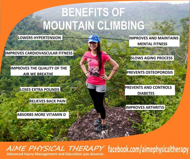 Benefits of Mountain Climbing