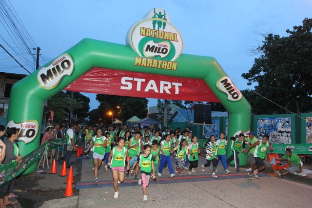 1 - The 37th season of the National MILO Marathon kicked off in Puerto Princesa with an outstanding display of talent and determination.