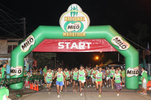 2 - A total of 6846 runners participated in the 37th National MILO Marathon Sunday in Puerto Princesa.