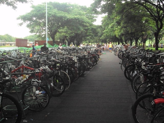 Bike Transition Area