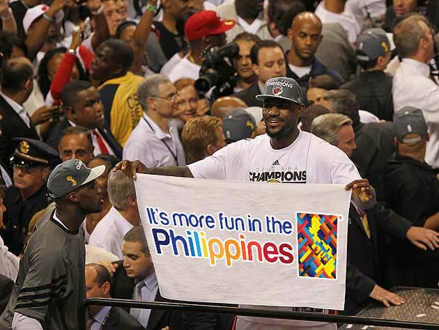 Lebron James to visit Philippines on July 23, 2013