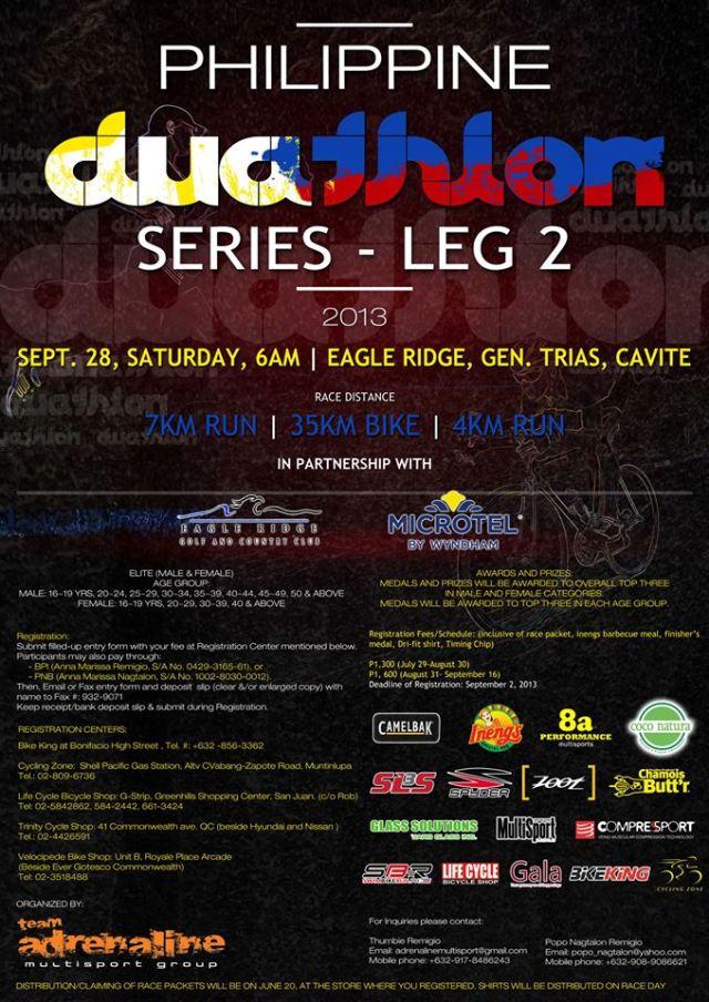 Philippine Duathlon Series Leg 2