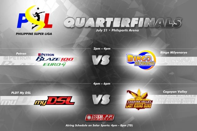 PSL 2013 Quarter Finals