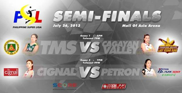 PSL Semi-Finals