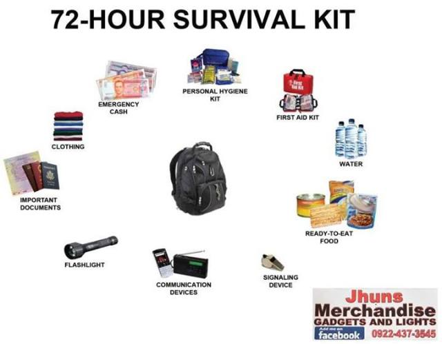 72-Hour Survival Kit