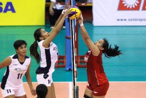 Charo Soriano Team Petron Blaze Lady Spikers