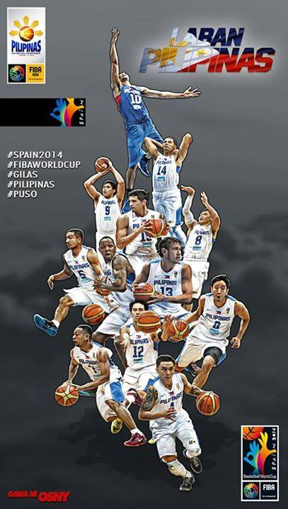 Gilas Pilipinas Photo courtesy of Osny