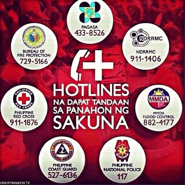 Important Emergency Hotline Numbers