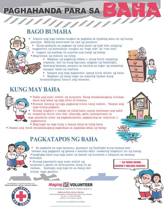 Paghahanda Para sa Baha - PH Red Cross