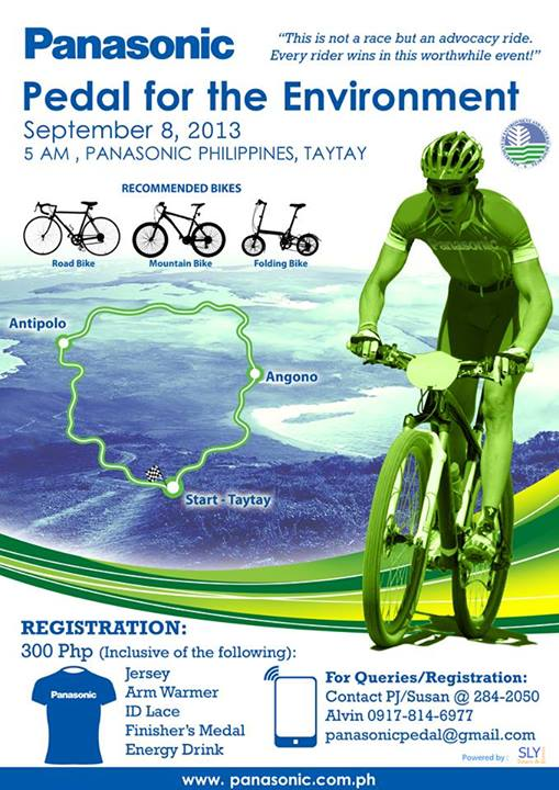 Panasonic Pedal for the Environment Poster 2