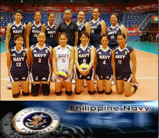 Philippine Navy Lady Sailors 2012 Team