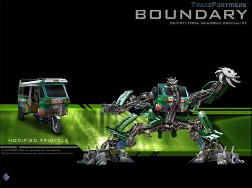 Pinoy Transformers - Boundary