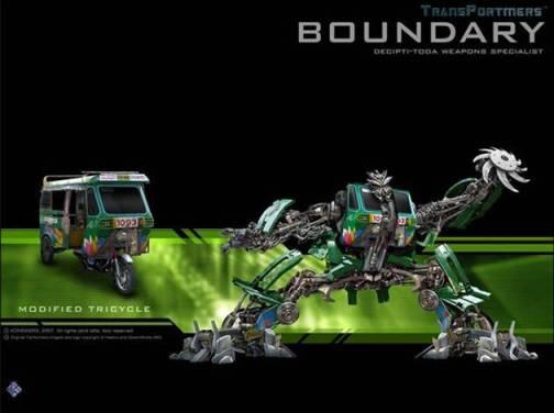 Pinoy Transformers - Boundary