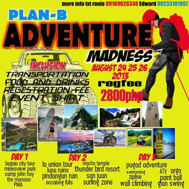 Plan-B Adventure Madness Aug 24-16