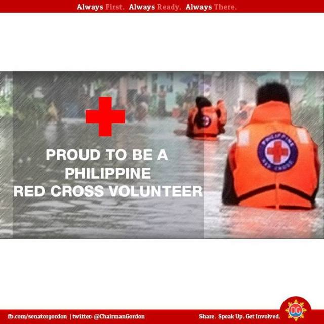 Proud to be a Philippine Red Cross Volunteer