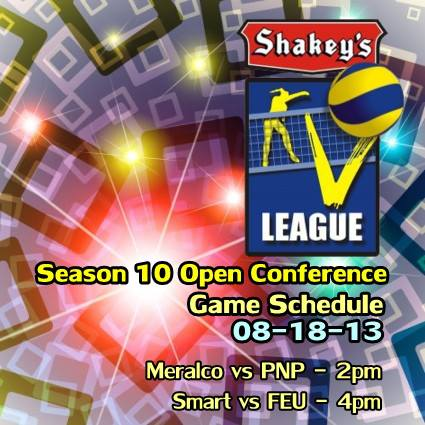 Season 10 Open Conference Shakey's V-League Opening Game
