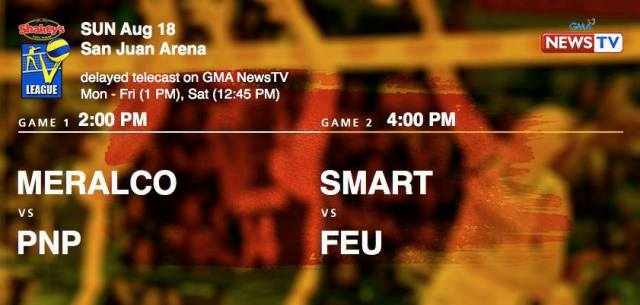 Shakey's V-League on GMA News TV
