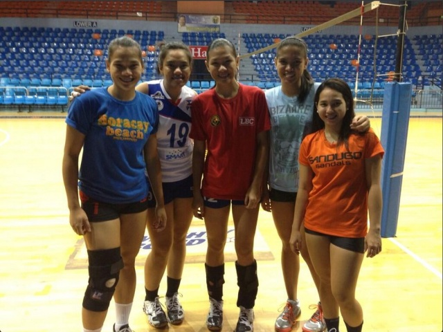 The Cagayan Valley Lady Rising Suns