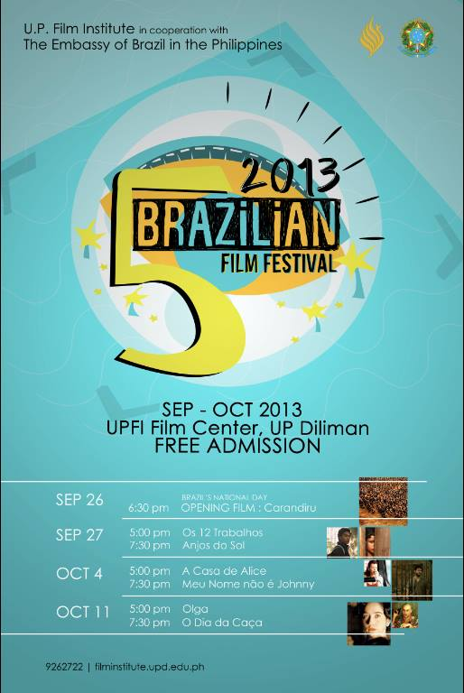 Brazilian Film Festival 5 2013
