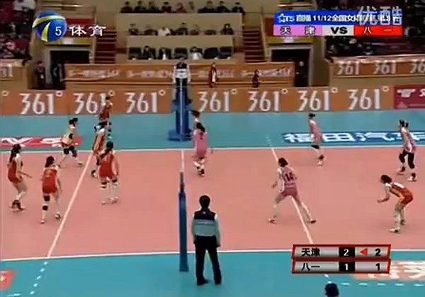 Chinese-Women-Volleyball-TianJin-vs-Army