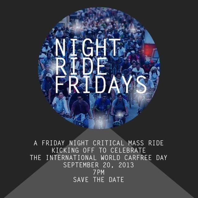 Friday Night Ride