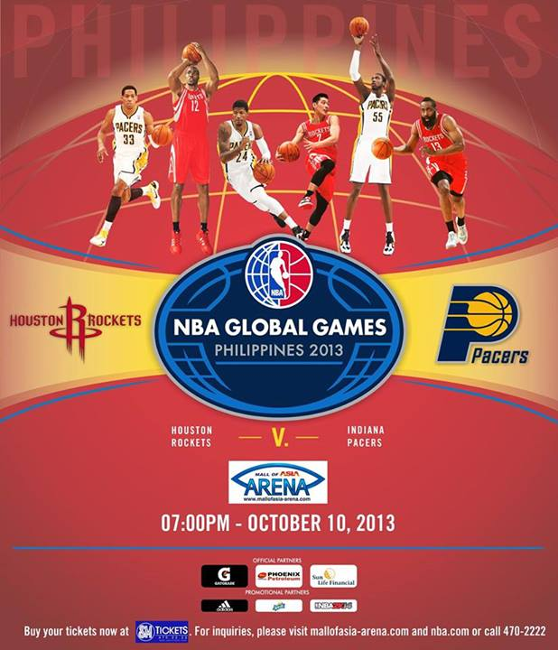 NBA Global Games Philippines 2013